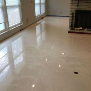 marble flooring landmark construction crew