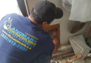 remodeling contractor landmark construction crew