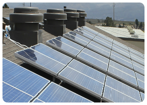 commercial solar installation in los angeles