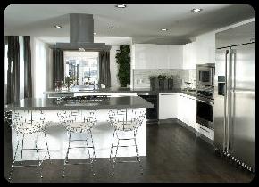 kitchen remodel contractor Landmark construction crew