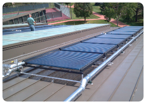 Cool PV & Thermal Pool Solar installation los angeles