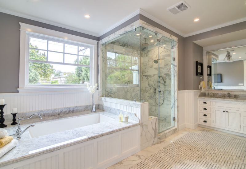 Fabulous What Is The Bathroom Remodel Cost In Los Angeles Beutiful Home Inspiration Semekurdistantinfo