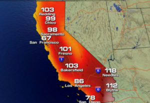 Los Angeles heat wave