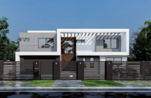 building a house in Los Angeles 3D