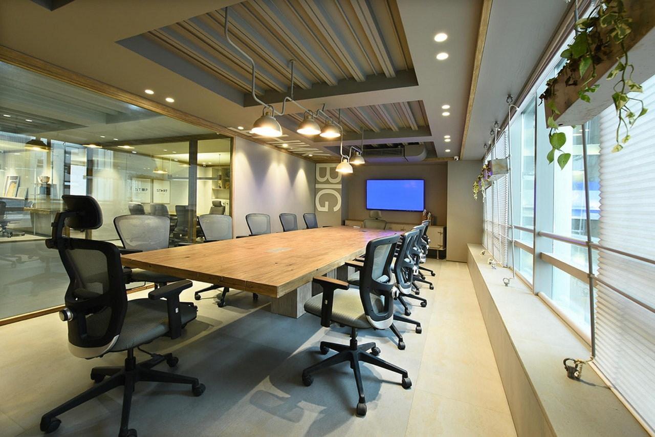 conference room office remodel in Los Angeles